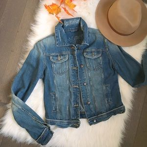 Bluenotes distressed denim/jean jacket